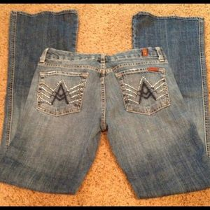 Studded A pocket 7FAM jeans size 28